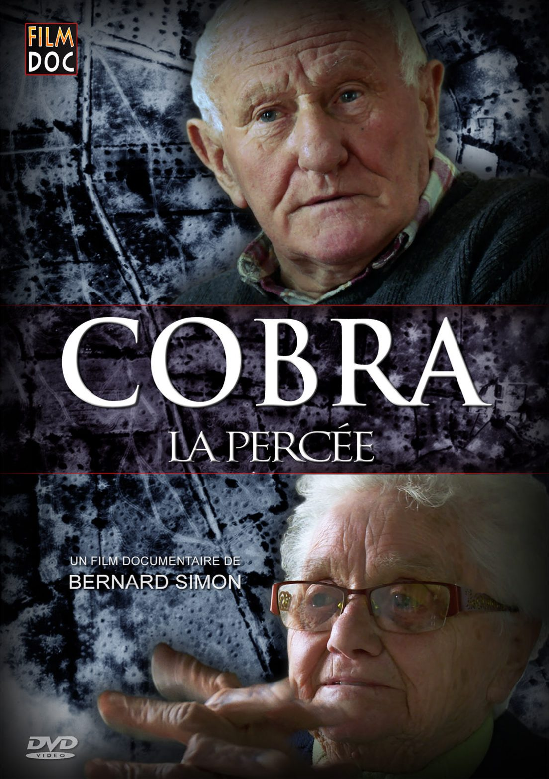 "Affiche du film documentaire ""Cobra la percée"""
