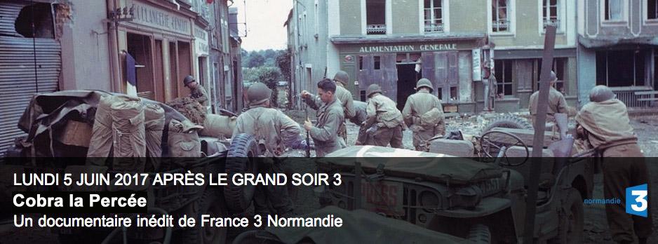 Lundi 5 juin 2017 après de grand soir 3, un documentaire inédit de France 3 Normandie